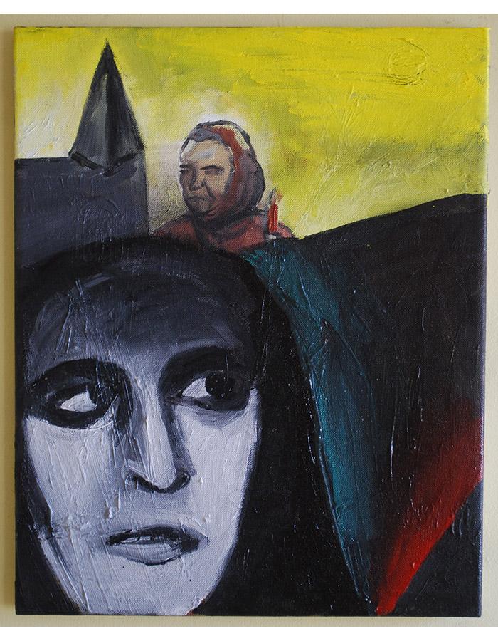 'Noche Oscura del Alma', Oil on Canvas, 2019