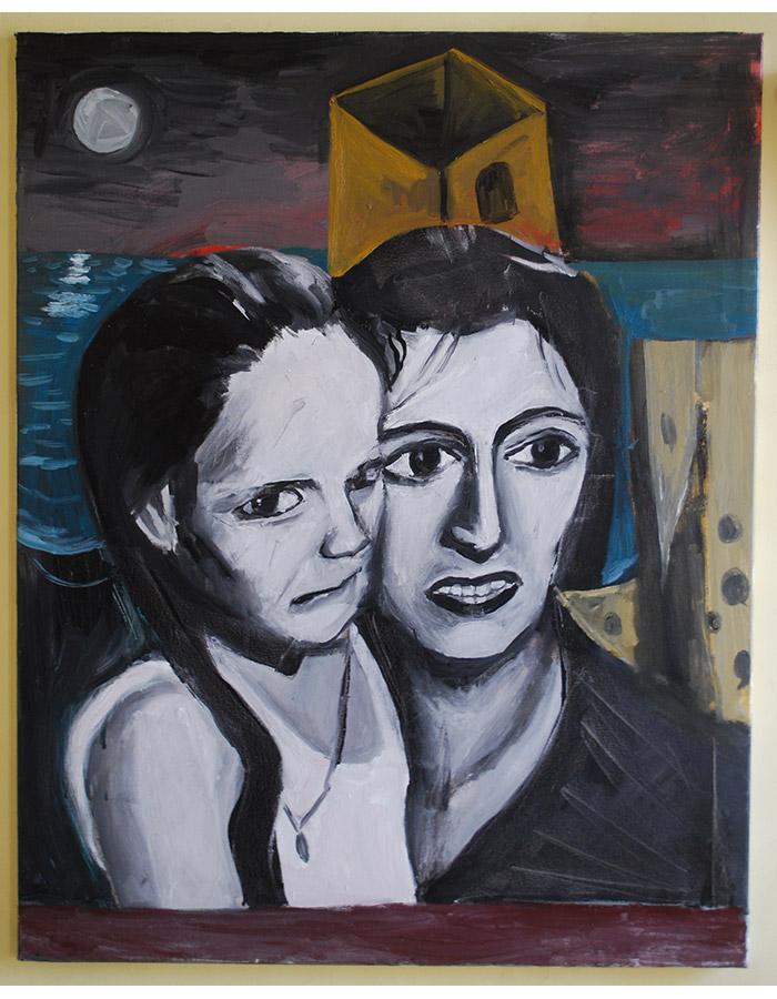 'Tristeza', Oil on Canvas, 2019