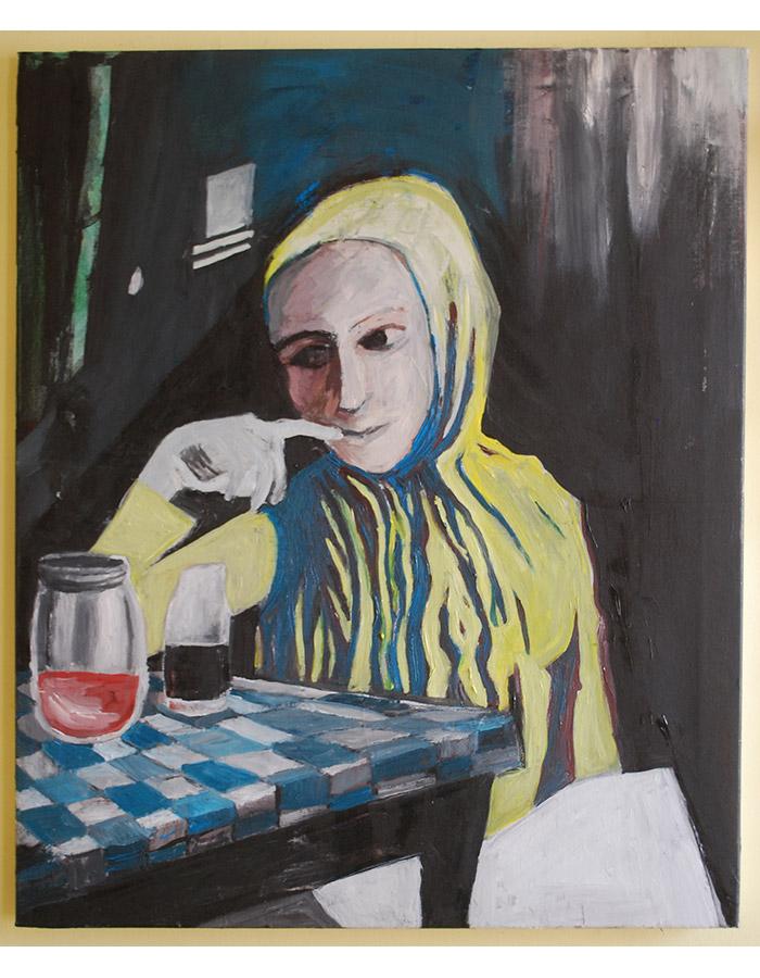 'Mono', Oil on Canvas, 2019
